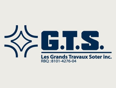 Logo of GTS Le Grands Travaux Soter Inc.